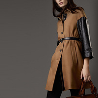 2013 slim long design single breasted woolen overcoat ol formal outerwear female