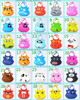 For BR 10pcs/lot hot sale waterproof silicone baby bibs 35 designs colourful