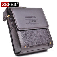 Free shipping Zefer male casual men shoulder bag, messenger bag