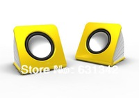 Free Shipping Fashionable 2.0 Mini speaker for 10PCS
