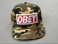Cheap obey Camo print Snapback baseball hats caps ,freeshipping