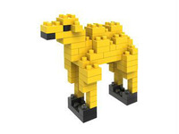 LOZ diamond blocks models & building toys educational enlighten blocks for children gift  animal camel