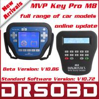 MVP Key Pro M8 MVP Key Programmer MVP PRO Diagnosis Locksmith Tool with 100 Tokens online update + full range of car models