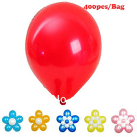 400PCS/Bag New Wholesale Colorful Circular Pearl Shape Rubber Balloons Wedding Birthday Party Decoration Supplies 6974