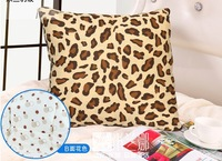 Hot Seller! High Quality Leopard Sofa Cushion Quilt Baby Blanket Pillow Mulitfunctional Cotton Christmas Gifts Free Shipping