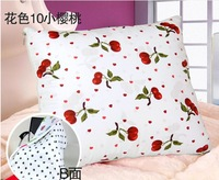 Free Shipping High Quality Cherry Quilt + Sofa Cushion + Bedding Pillow Cotton  Home Decor Promotional Giveaway Gift