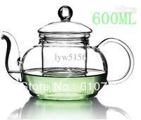 Wholesale - Hot Sale 600ML Heisou Glass Teapot Flower Tea Sets Infuser Cups Elegant Gifts Novetly Items