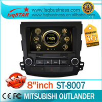 car central multimedia for Mitsubishi Outlander with GPS,Bluetooth.IPod,V-CDC,PIP,Steering wheel control 3G cheap...
