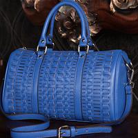 Free shipping Luxury genuine leather handbag Girls / women's handbag shoulder bag Tote bag casual fashion all-match