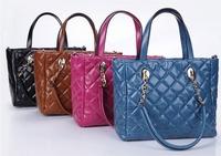 Free shipping Luxury genuine leather handbag Girls / women's tote bag Shoulder bag Messenger bag