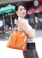 Freeshipping 2014 new fashion Wpkds women's genuine leather handbag vintage chain leather bag messenger bag
