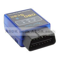 HOT!! Mini Bluetooth ELM 327 OBDII OBD2 wireless scan tool, Protocols Auto Diagnostic Tool