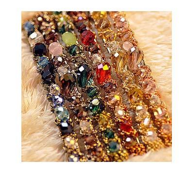 2013 hotsale Hair jewelry Crystal Rhinestone hairwear colorful rhinestoone crystal irregular in free shipping(China (Mainland))