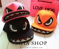 New fashion korean style Running man Song Ji Hyo cartoon shark hiphop baseball cap cute basebol hat