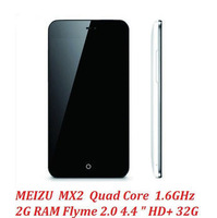 meizu mx2 Quad Core phone 4.4 Inch MX 2 HD Screen 2GB RAM mtk6589 Flyme 2 camera 8MP 16GB gps 52language original free shipping