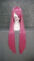 Straight Long Ladies Full Wig 32inch (Smoky Pink)