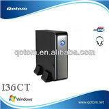 Windows embedded linux micro pc mini computer QOTOM-I36CT Dual-Core 1.1GHz Intel mini serve pc