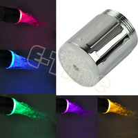 6pcs/Lot  Value Set New Water Glow Shower Multicolor Water Glow LED Faucet Light Tap Sink RC-F04 Wholesale 4586