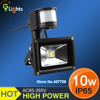10W PIR Motion detective Sensor LED Floodlight Outdoor LED Flood light Landscape LED Flash Light warm white/Cold white