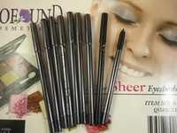 Black Waterproof Not blooming Eyeliner ,Eye Liner Gel pencil 24pcs/lot, free shipping