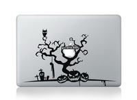 Free Shipping 2013 Designs Happy Halloween Decals for Macbook Decals