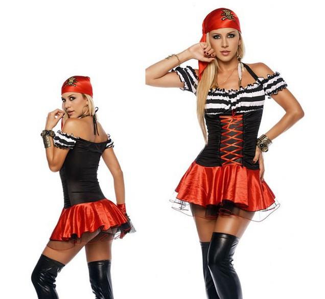 Костюм пиратки для женщин
