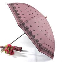 Vinyl anti-uv umbrella princess umbrella sun umbrella
