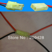 Free shipping 1 pair 150mm 16 AWG Silicone Wire small mini Tamiya Male & Female Connectors RC use battery pack DIY repair