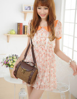 2013 vintage small bags straw bag woven bag beach bag strap shoulder strap innumeracy high quality product