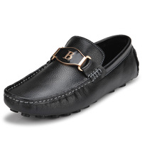 Male male 2013 gommini loafers genuine leather shoes fashion casual shoes breathable shoes foot wrapping lounged male