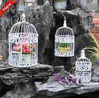 Free shipping Wrought iron bird cage wall iron birdcage flower wrought iron bird cage decoration XS size 2pcs/lot