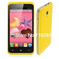 S720 Smartphone Android 4.2 MTK6572 Dual Core 4GB 4.5 Inch TFT Screen Yellow