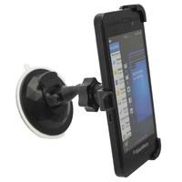 360 Rotation Black Windshield Suction Car Mount Cradle Holder for BlackBerry Z10 BB10