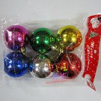 5cm 6 ball light Christmas ball multicolour ball accessories Christmas decoration supplies 5