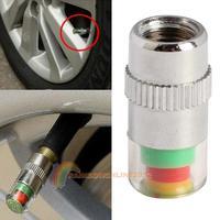 R1B1 2014 New Car Tire Air Pressure Monitor Valve Stem Cap Sensor Indicator Eye Alert