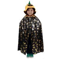 Dance party clothes halloween clothes child quality pumpkin hat gold golden pumpkin mantissas