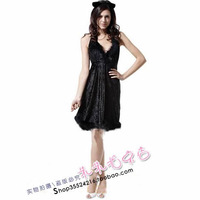 Halloween clothes adult masquerade , Christmas , costume