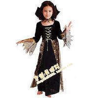 Halloween clothes child clothes large children party clothes female child