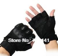Outdoor Sports Fingerless Military Tactical Airsoft Hunting Cycling Bike Gloves Half Finger Gloves Free Shipping