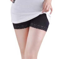 Viscose modal safety pants boxer panties lace legging panties female