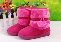 New Child Snow Boots Warm Boots Children Shoes Male Female Child Boots Male Cotton-padded Shoes Cotton Boots Free Shipping