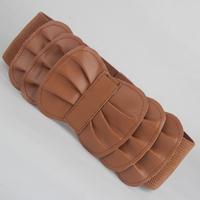 Fashion ruffle 114 stromatolith bow elastic waist belt women's all-match wide cummerbund female