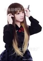 Harajuku Wig wig ladies maid lolita cosplay wig cos Meng Mei wind Stage-specific