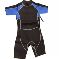 wetsuit One piece 3mm short-sleeve wet submersible clothing submersible service swimwear surf clothing surfing suit sunscreen
