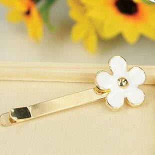 Sunshine jewelry store fashion daisy flower hairpin hair clip F125 (   $10 free shipping  )