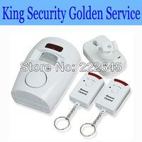 Motion Sensor Detector Alarm Wireless IR Infrared Sensor Remote Security System Indoor & Outdoor Alarm Sensor
