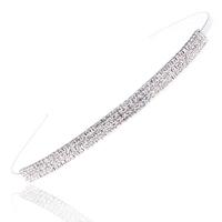Bride brief three rows of diamond full rhinestone hoop type the bride the bride hair accessory the bride accessories hair