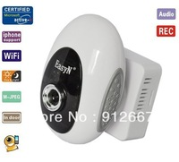 Original high quality easyN EasyN Wireless mini IR IP camera with 8 LEDS Night Version Two Way Audio phone watch