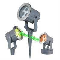 9watts garden spike led light