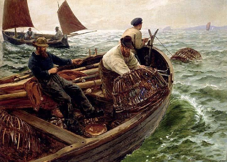 рыбаки с французских берегов сериал